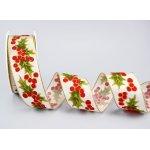 HOLLY Weihnahten Geschenkband