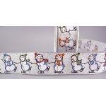 SNOWMAN Weihnachten Geschenkband
