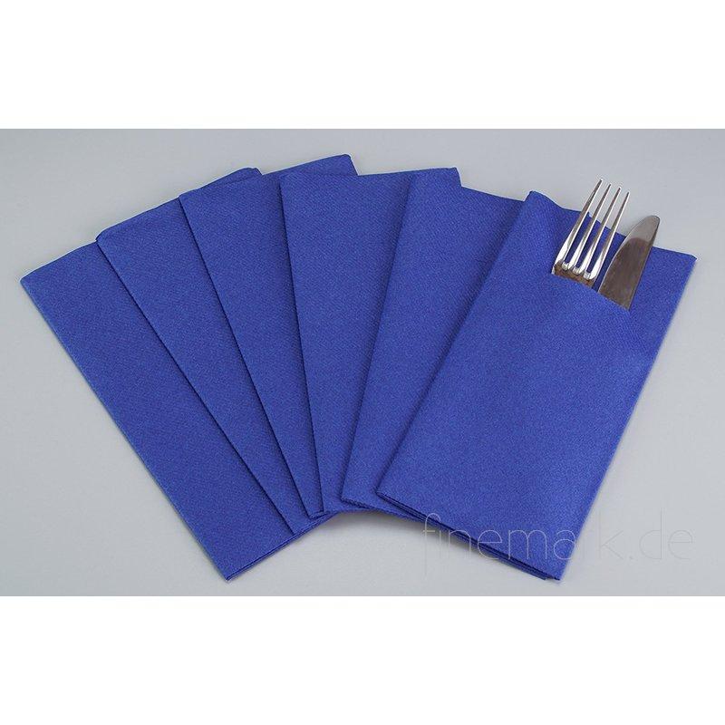 besteckservietten servietten blau stoff hnlich. Black Bedroom Furniture Sets. Home Design Ideas